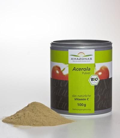 ACEROLA BIO la naturale Vitamina C 100g AMAZONAS, polvere