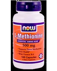 L-Metionina forma libera 500mg, 100 Caps