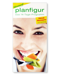 Info Almased Planfigur das 14-Tage-Programm