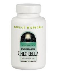 Chlorella High Chlorophyll 500mg, 200 Tabs