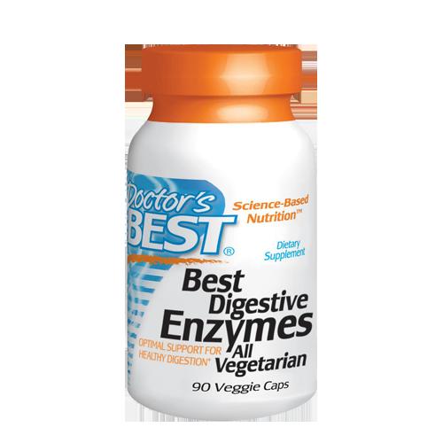 Best Essential Enzymes 500mg, 90 VegeCaps