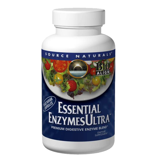 Essential Enzymes Ultra 465mg, 120 VegeCaps
