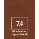 FM Natürliche Coloration Blond kupfer 7,4