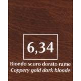 FM Natürliche Coloration Blond dunkel kupfer golden 6,34