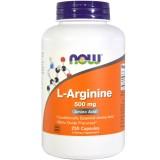 L-Arginin 500mg, 250 Caps