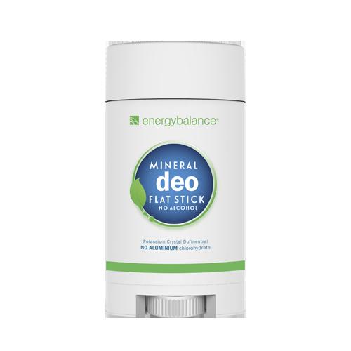 Deodorant  EnergyBalance Crystal Flat Stick, fragrance-free 75g