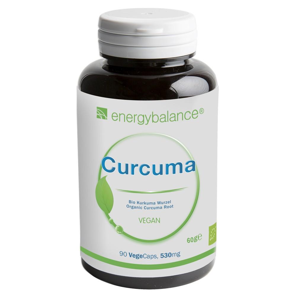 Curcuma longa Bio Natürlich 530mg, 90 VegeCaps