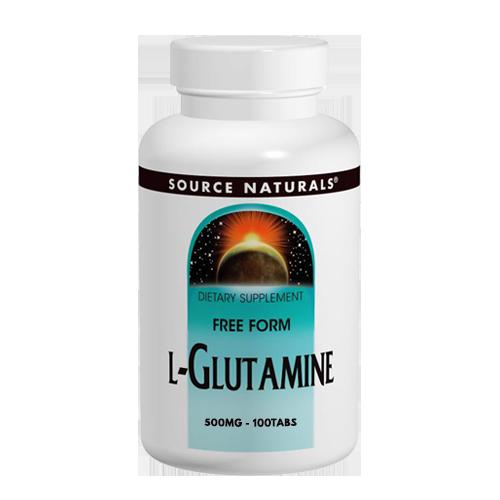 L-Glutamin freie Form 500mg, 100 Tabs