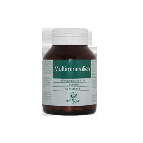 Multimineralien Natur Vital, 120 Tabs