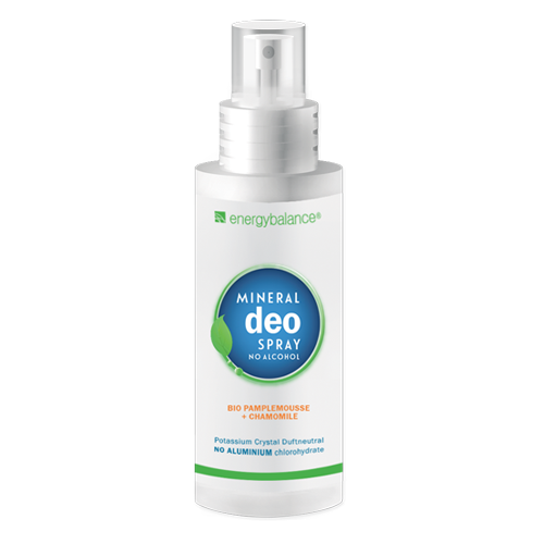 Deo  EnergyBalance Kristall Spray Bio Pamplemousse Camomille 100ml