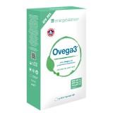 Ovega3 90 Fischölkapseln mit 3 natürlichen Antioxidantien Astaxanthin, Q10 + Vitamin C