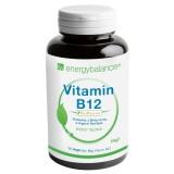 Vitamin B12 biologisch aktiv 7.5µg + BioPerine, 90 VegeCaps