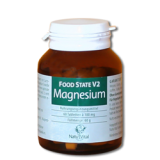 Magnesium 100mg FOOD STATE V2, 60 VegeTabs