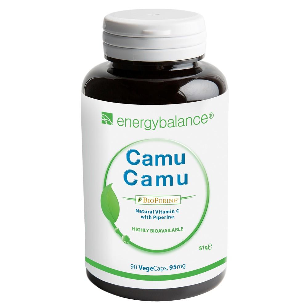 CamuCamu HighAbsorption vitamina C naturale  + BioPerine, 90 VegeCaps