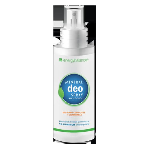Deo  EnergyBalance Cristallo Spray bio Pamplemousse Camomille 100ml