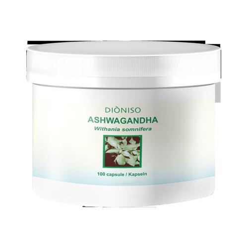 Ashwagandha BIO Withania somnifera 450mg, 120 VegeCaps