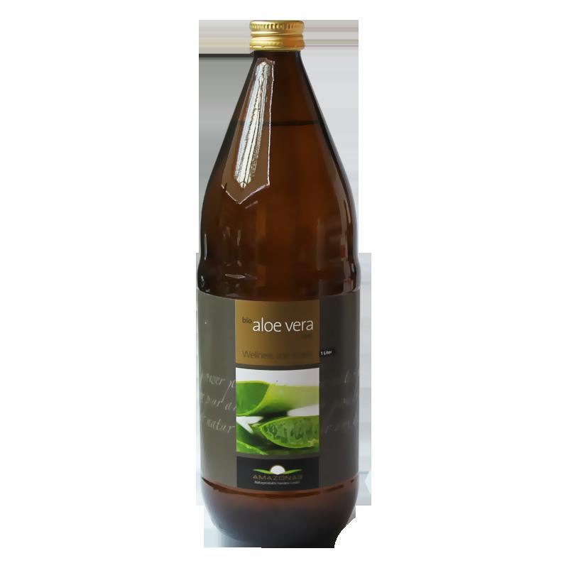 Aloe Vera Bio Succo 100%, 1 Litro
