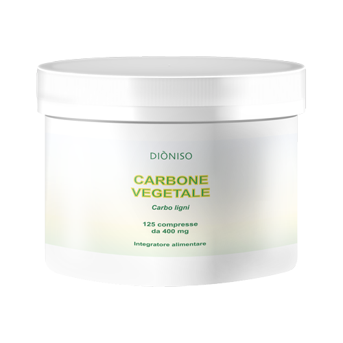 Carbone vegetale 400mg, 125 Compr.