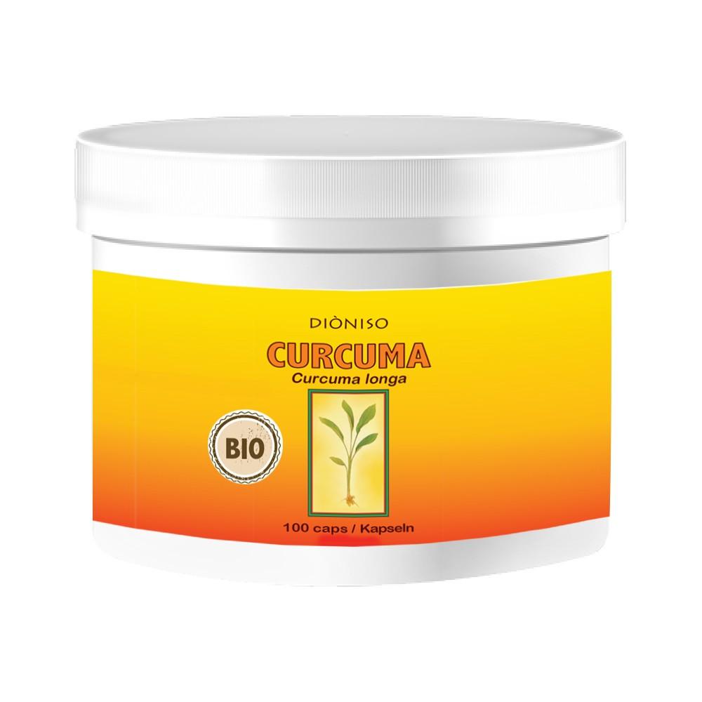 Curcuma BIO 600mg, 100 VegeCaps