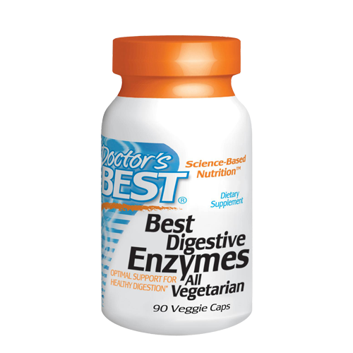 Best Essential Enzymes 500mg, 90 VegeCaps