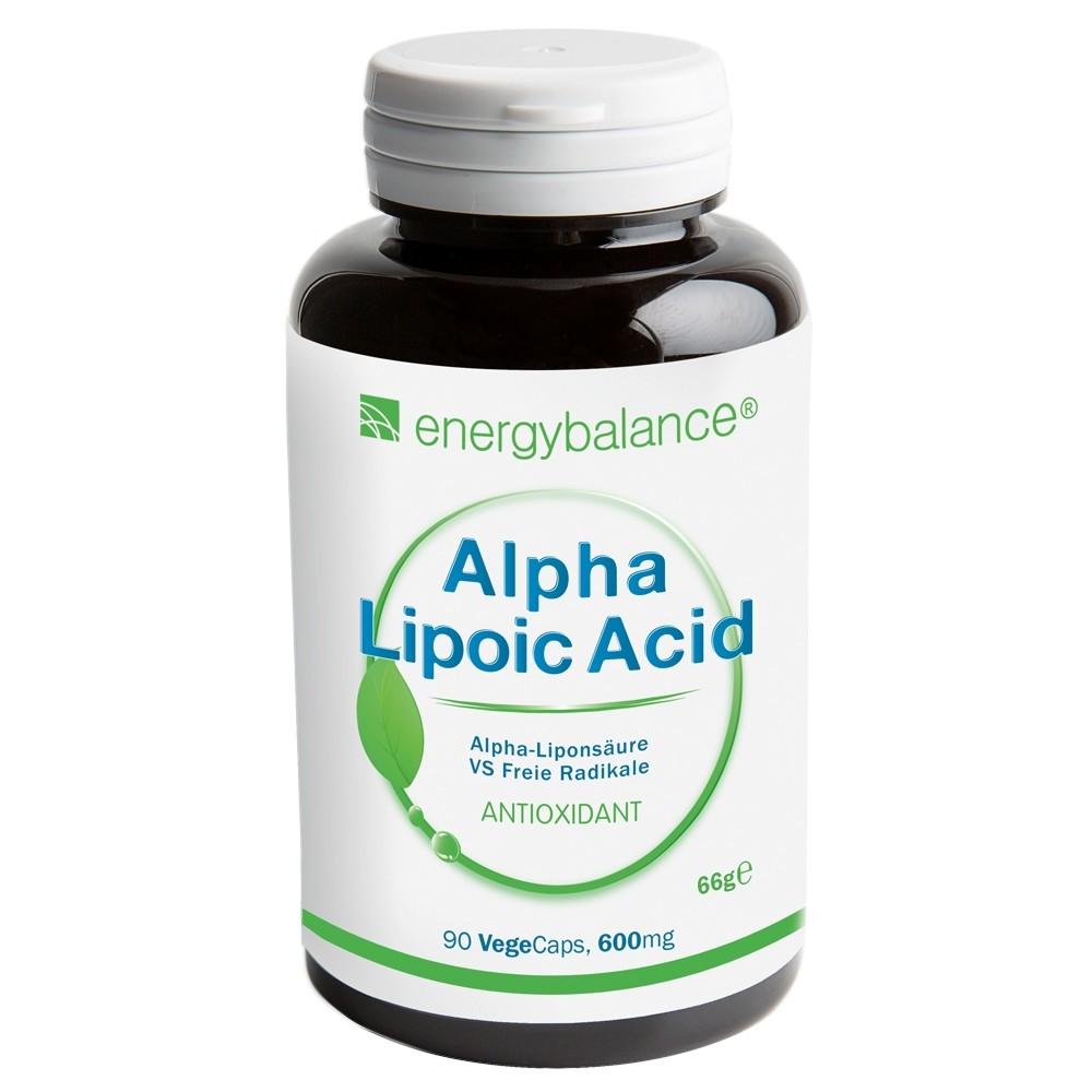 Acido Alpha-Lipoico 600mg, 90 VegeCaps