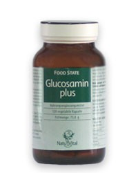 Glucosamine Plus 290mg FOOD STATE, 120 VegeCaps