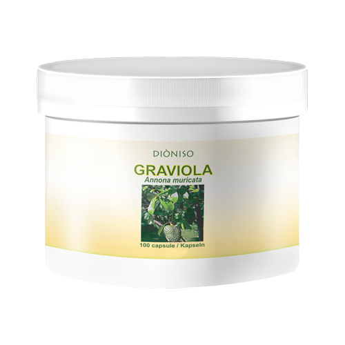 Graviola frutto 550mg, 100 VegeCaps