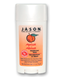 Deo Jason Natural Apricot Stick 75g