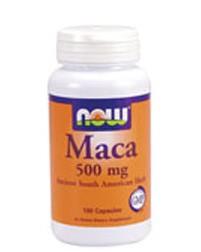 Maca NowFoods 500mg, 100 Caps