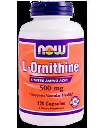 L-Ornitina 500mg, 120 Caps