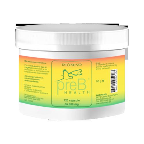 PreB® Health Prebiotica 700mg, 120 VegeCaps