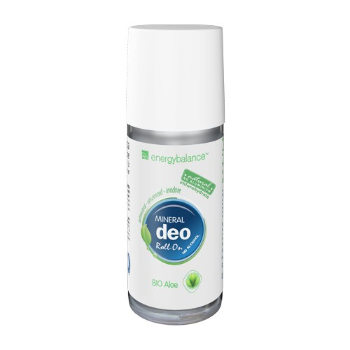 Deo EnergyBalance senza Alu Roll-on Aloe bio inodore 50ml