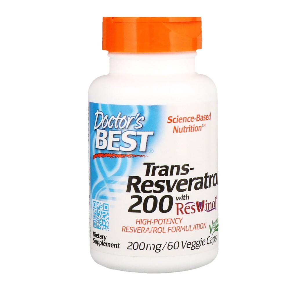 Resveratrolo 200mg, 60 VegeCaps