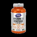 L-Arginina + L-Ornitina 500/250mg, 250 Kapsule