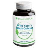 Wild Yam + Black Cohosh Dioscorea selvatica 536mg, 90 VegeCaps