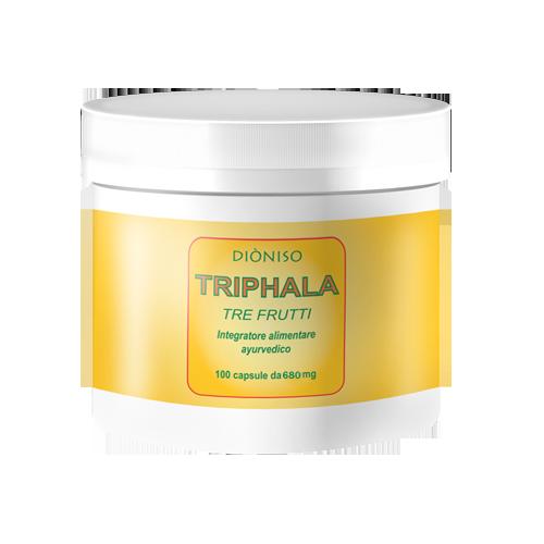 Triphala 3 Früchte 600mg, 100 VegeCaps
