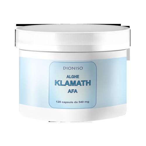 AFA Klamath Blau-Grüne Alge 500mg, 120 VegeCaps