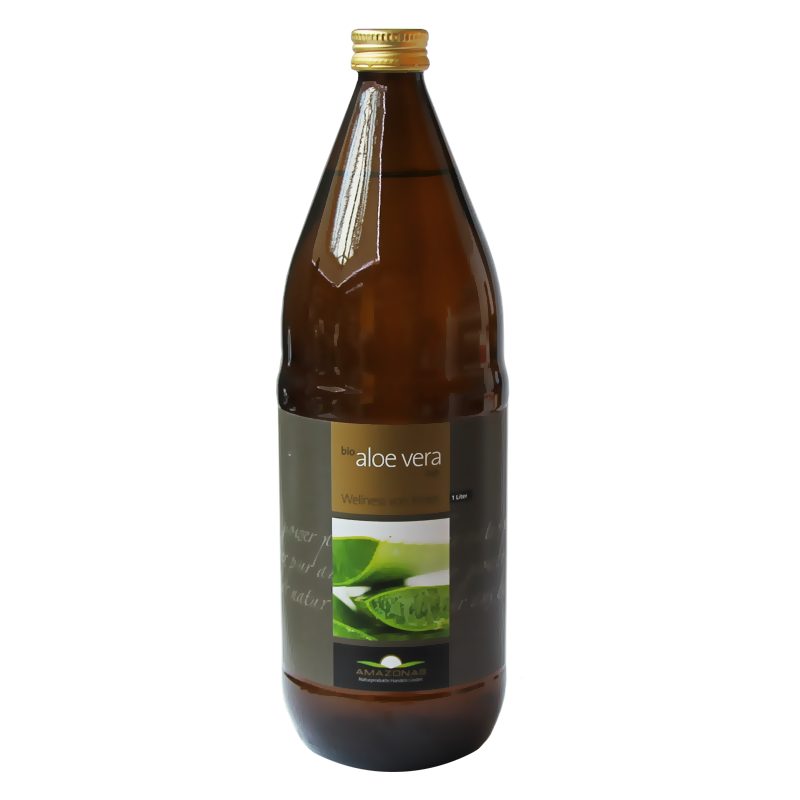 Aloe Vera Bio Saft AMAZONAS 100%, 1 Liter