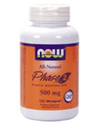 Phase 2™ Starch Neutralizer 500mg, 120 VegeCaps