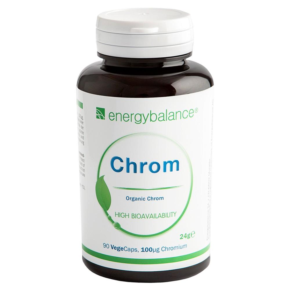 Chrom Organisch Natural 100µg, 90 VegeCaps