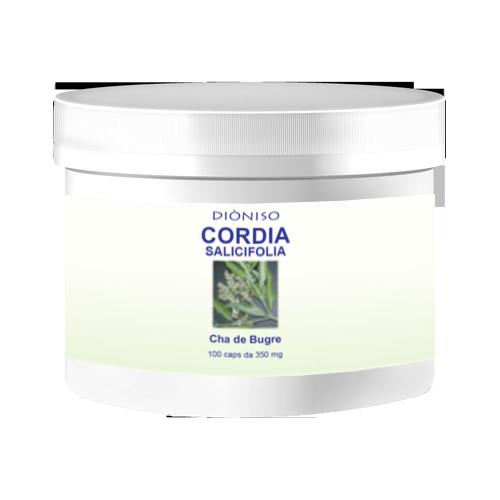Cordia salicifolia Cha de Bugre 350mg, 100 VegeCaps