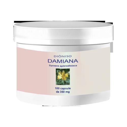 Damiana 350mg, 100 VegeCaps