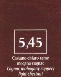 FM Natürliche Coloration Kastanienbraun 5,45 hell kupfer mahagoni cognac