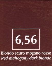 FM Natürliche Coloration Blond dunkel mahagoni rot 6,56