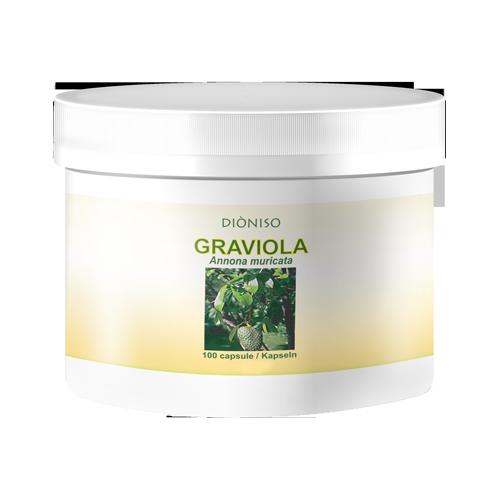Stachel-Annone Graviola Frucht 550mg, 100 VegeCaps