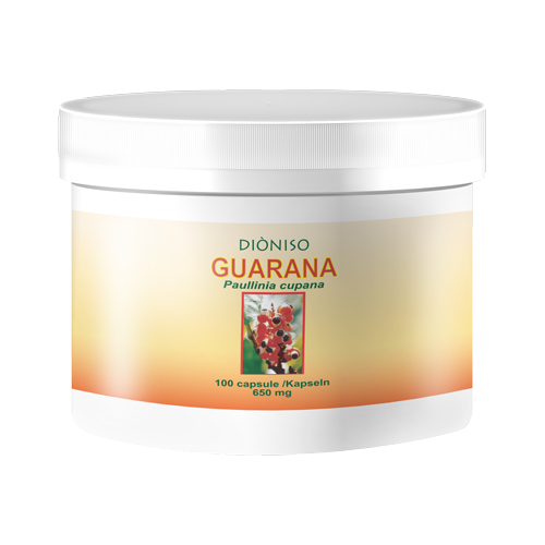 Guarana 650mg, 100 VegeCaps