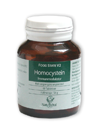Homocystein FOOD STATE V2, 60 VegeTabs
