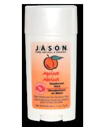 Deo Jason Natural Apricot Stick 75g