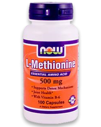 L-Methionin freie Form 500mg, 100 Caps