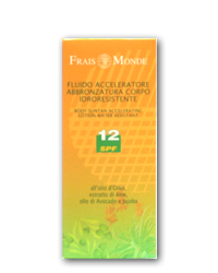 FM Solare Schutzfaktor 12 Bräune Beschleuniger Körperfluid 150ml